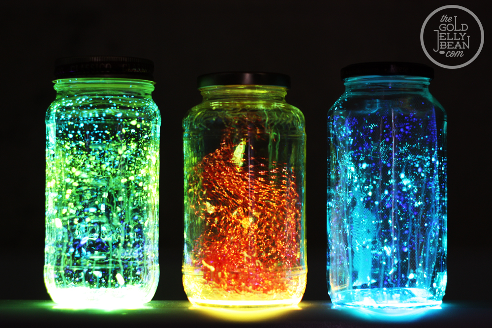 glow in the dark spray paint ideas