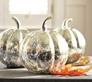 Easy Diy Craetive Mercury Spray Paint Pumpkin Mirror Finish Center Piece Stylish Decoration Jpg